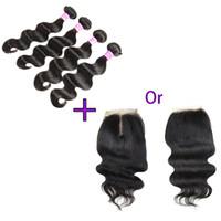 브라질 인간의 머리카락 4 번들 100 % 처리되지 않은 8A 바디 웨이브 버진 헤어 번들 거래 도매 레미 인간의 머리 확장