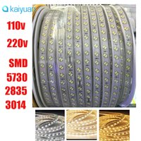 50m full set 110v 220v double row smd 5630 5730 3014 2835 le...