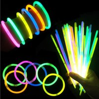 Multi Color Glow Stick Light Bracelets for Party Hot Dance C...