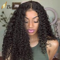 Brazilian Human Hair Lace Wigs for Black Women Kinky Curly L...