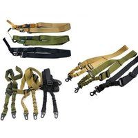 Tactical Gun Sling One Two Three Points Adjustable Nylon Gun...
