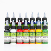 New Type High Quality Tattoo Ink 30ml 14 Colors Tattoo Pigme...