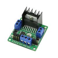 5pcs L298N Dual H Bridge DC Шаговый двигатель контроллер контроллера