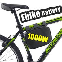 48V электрический велосипед литий-ионный аккумулятор вниз трубки 1000W блок батарей