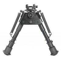 """Nuova vendita calda tattico 6 """"M3 Bipod completamente regolabile a molla-espulsione gambe bipiede per caccia pistola CL17-0013"""