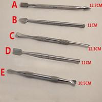 실리콘 팁 금속 왁스 nonstick dabbers 티타늄 dabbing 도구와 최고의 품질 GR2 왁 스 밥 도구를 판매하는 베스트