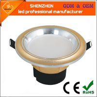 3w 삼색 온도 LED 램프 디밍 램프 2.5inch anti-fog 통합 downlight 높은 품질 색상 led 빛 아래로 변경