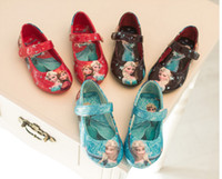 New Baby Shoes Frozen Anna Elsa Princess Leather Shoes Sneak...