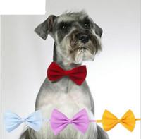 الأزياء البوليستر الحرير كلب التعادل تعديل الوسيم العلاقات العنق الكلب القط الاستمالة إمدادات الحيوانات الأليفة الملابس المنتجات