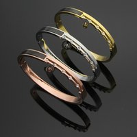 rose gold love bracelets for women fashion jewelry charm C b...