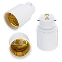 Hot Koop BC B22 aan ES E27 Schroef Gloeilamp Adapter Lamp Houder Converter Lamp Bases Wit