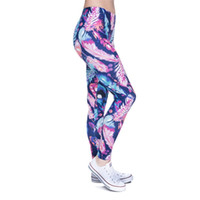 Mujeres Leggings 3D Nuevo Gráfico de Impresión Completa Chica Flaco Elástico Pantalones Ajuste apretado Elástico Delgado Sprots Fitness Lápiz Pantalones DDK5 FRFF