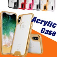 Acrylic Hybrid Armor Transparent Shockproof Anti- Scratch TPU...