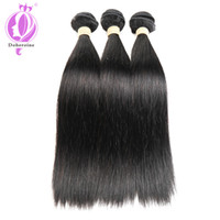 Unprocessed Brazilian Straight Virgin Real Human Hair Extens...