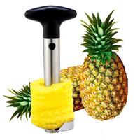 Qualité Ananas Trancheurs Peelers Cutters Ananas Couteau À Décorer En Acier Inoxydable Cuisine Fruit Outils Gadgets