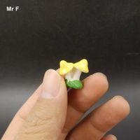미니 피규어 장난감 세 버섯 모델 선물 어린이 인공 시뮬레이션 인형 인식 게임 교육 Prop