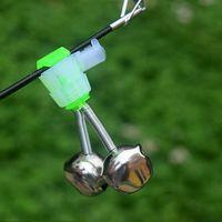 Nuova accessori per la pesca spina marcia campanello d'allarme campana canna da pesca in mare luminoso bastone piccole campane a spirale in vendita