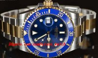 Luxury Watches Stainless Steel Bracelet 40mm 116613 BLUE CER...