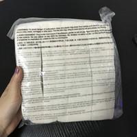 Japon 100% saf organik pamuk fitiller pamuklu kumaş japonya pedleri Için DIY RDA Aracı Vape E çiğ Mekanik mod MUJI gelen 180 adet DHL