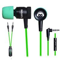 세련 된 이어폰 헤드폰 earbuds 휴대 전화 컴퓨터에 대 한 마이크 게임 헤드셋에 이어폰 마이크 MP3 잡음 - 취소 헤드폰 zpg237