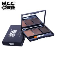 Three- color eyebrow powder brand authentic boxed wholesale c...