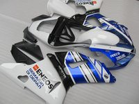 Yamaha YZF R1 00 01 용 차체 페어링 키트 파란색 흰색 오토바이 페어링 세트 YZFR1 2000 2001 OT38