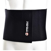 Fitness Equipment Neoprene Black Adjustable Slimming Belt Wa...