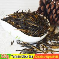 250 grammi di tempo del tè nero Dianhong rosso cinese Maofeng cinese verde dieta sana + SPEDIZIONE GRATUITA