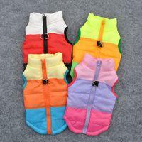 Manteau chaud d'hiver de chien Veste Vêtements Gilet Harnais chiot vêtements pour chien Pull shirt Vêtements pour chien Roupas par Cachorro 15