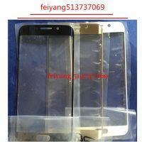 10 adet Orijinal Dokunmatik Ekran Ön Dış Cam Lens Kapağı Samsung Galaxy S6 Kenar G925 Için Yedek parça