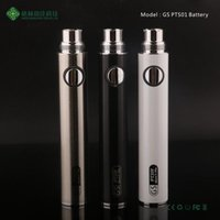Authentische GS PTS01 Ecig batterie 650/900 mah Android Micro 5 pin USB batterie ego batterie 650 mAh fit ce4 ce5 Zerstäuber