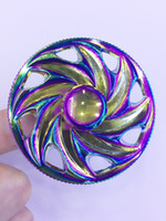 New arrived Rainbow Fidget Spinner Toys Fingertip gyro EDC d...