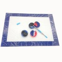 """Kit utensili da intaglio della cera in silicone con tappetino da 11,81 * 8.27 """"e 5ml 7ml 10ml 22ml barattoli con contenitore del dabber"""