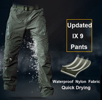 Breathable Quick Drying IX9 Pants 100% Nylon Made Summer Cam...