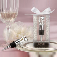 Wine Bottle Stopper Love Heart Zinc Alloy Wedding bridal Sho...