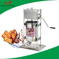 N15 Manual comercial 10l Máquina de churros EspañaSsh Máquina de churro de acero inoxidable para la venta Máquina de alimentos Spainish Snack