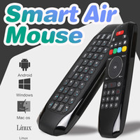 Smart Air mouse G7 Лучшая 2.4GHz Air Mouse Пульт дистанционного управления с ИК-функцией обучения для s905 tv box iptv box tablets VS MX3 X8