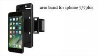 Fascia da braccio sportiva per iphone 7 7plus 6s 6s plus 5s Universal running Fascia da braccio per impieghi gravosi per Galaxy S7 bordo S7