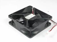 Nidec D08K-24PU 18B (AX) DC 24V 0,13A 3-poliger 3-poliger Stecker 80mm 80X80X25mm Server Quadratischer Lüfter