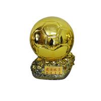 Ballon d'Or 2014 Fußball Welt Spieler des Jahres Trophäen Harz Goldener Ball 24cm Factory Lieferung