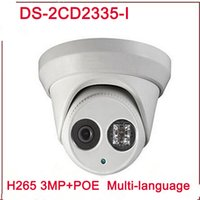 New arrival DS- 2CD2335- I replace DS- 2CD2332- I 3mp 30m IR Net...