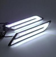 Стайлинга автомобилей водонепроницаемый 33 светодиодов DRL супер яркий DRL автомобилей дневного света универсальный автомобиль дневные ходовые огни