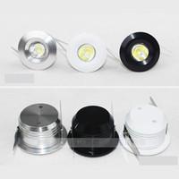3W 미니 LED downlight dimmable 흰색 라운드 천장 자리 조명 110V 220V Recessed 알루미늄 램프 따뜻한 화이트 3000k CRI 85 CE UL