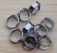 200 шт./лот из нержавеющей стали пивной бар инструмент палец кольцо открывалка для бутылок, персонализированный логотип бесплатно