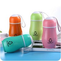 280ml Penguin new stainless steel insulation cup portable be...