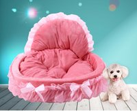 Kimpets Stylish Washable Lace Pet Dog Cat Bed House Soft Was...
