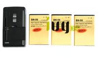 3 adet 2450 mAh BN-06 BN06 BN 06 Altın Yedek Pil + Microsoft Nokia Lumia 430 Lumia430 Için Evrensel USB Duvar Şarj