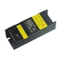 Sanpu Slim電源12V 24V 35W 60W ACからDCの照明変圧器LEDのドライバーの黒いアルミニウムはLEDのストリップライト