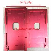 Para el iphone 8 8p Plus marco con moldes de precisión de moldes de aluminio para OCA máquina laminadora herramientas de reparación