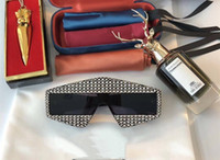 Limited Edition 0289 Sunglasses Sparkling Diamond Designer F...
